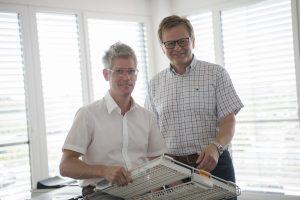 Geschäftsführer Volker Scheffels (links) und Peter Diedershagen-Reissig, führungsverantwortlicher Prokurist bei EKT