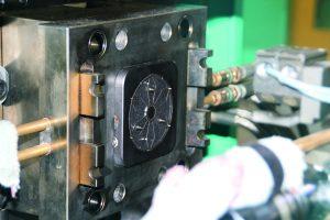 Bodenplatte im Produktionsprozess