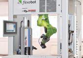 Modulare Roboterzelle mit integriertem Ultraschall-Schweißsystem (Bildquelle: Herrmann Ultraschall)
