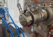 Schneller Extruder für die Rohrproduktion (Bildquelle: Friul Filiere)