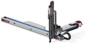 In der Basiskonfiguration bewältigt der Roboter eine Traglast von 45 kg. (Bildquelle: Wittmann)