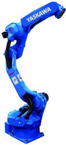 Aufgrund des schlanken Armdesigns kann der Roboter auch bei beengten Platzverhältnissen eingesetzt werden. (Bildquelle: Yaskawa)
