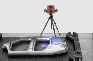 Je nach Anforderung kann die Genauigkeit und Auflösung des Sensors flexibel angepasst werden. (Bildquelle: GOM)