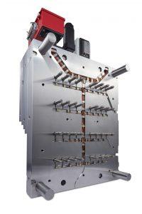 Die Heißkanal-Serie verwendet nur Edelstahl und eignet sich in idealer Weise für das Spritzgießen von scher- und temperaturempfindlichen Materialien wie PC, POM und PBT. (Bildquelle: Milacron)