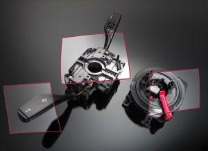Das Lenkstockschalter-Modul ist rund 20 Prozent leichter als das Vorgängermodell und wird Fahrzeugen der BMW 3er bis BMW 7er Baureihe mit Hinterradantrieb eingebaut. (Bildquelle: BASF)