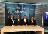 Gemeinsam für die Industrie 4.0 (von links): Christian Thönes, Vorstandsvorsitzender von DMG Mori; Ralf Dieter, Vorstandsvorsitzender von Dürr; Karl-Heinz Streibich, Vorstandsvorsitzender der Software AG; und Thomas Spitzenpfeil, Vorstand (CFO/CIO) von Carl Zeiss. (Bildquelle: Zeiss)