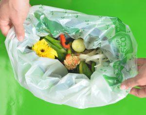 Die kompostierbaren Kunststoffen können beispielsweise für Bio-Abfall-Beutel genutzt werden. (Quelle: BASF)