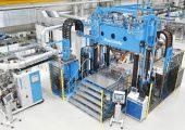 Blick ins Technikum des Maschinenbauers, der 2017 seinen Wachstumskurs fortsetzte. (Bildquelle: Kraus Maffei)