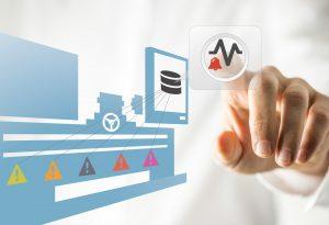 Die Software Symmedia SP1 vereinfacht die Fernwartung, Ersatzteilmanagement, Wartung und Monitoring für jede einzelne Maschine. (Bildquelle: Symmedia)