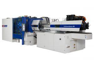 Die neue elektrische Spritzgießmaschine wurde im laufenden Geschäftsjahr zur Serienreife entwickelt und steht ab Herbst dieses Jahres in den Schließkraftgrößen 400 und 500 t am Markt zur Verfügung. (Bildquelle: Wittmann)