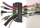 Modulares Leitungsdurchführungssystem mit Inlays und Dichtelementen aus TPE (Bildquelle: Conta-Clip)