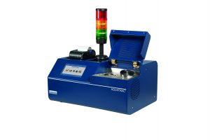 Das Gerät misst schnell und präzise den Restfeuchtegehalt in Kunststoffen.