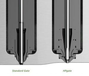 Hauptkennzeichen des neuen Konzepts (rechts) ist ein in das Werkzeug eingeschraubter Einsatz aus gehärtetem Metall. (Bildquelle: HRS)