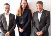 Der neue Vorstand der Fachgruppe Verpackungsbecher (v.l.): Andreas Doster, Dr. Helen Fürst, Jürgen Reck. (Bildquelle: IK Industrievereinigung Kunststoffverpackungen)