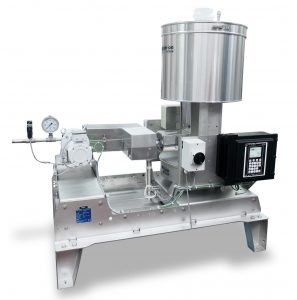 Die modularen Differential-Dosierwaagen für Flüssigkeiten sind mit einer Vielzahl von Optionen erhältlich, einschließlich des hier gezeigten Isolations- und Heizsystems, um die Temperatur der Flüssigkeit beizubehalten. (Bildquelle: Coperion K-Tron)