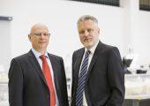 Die beiden Eigentümer und Geschäftsführer von 1zu1 Prototypen, Hannes Hämmerle (links) und Wolfgang Humml. (Bildquelle: 1zu1)