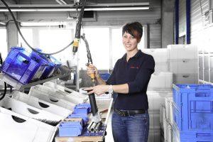 In dem Burgwalder Unternehmen werden auch ganze Baugruppen montiert. (Bildquelle: Metak)