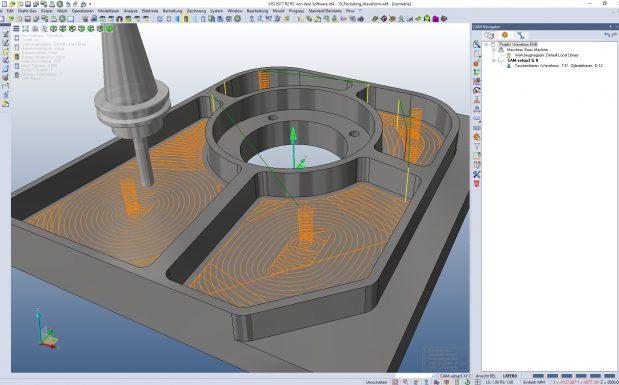 Platz 10: Die CAD-Software Visi von Mecadat, Langenbach, bekam mit Version 2017 R2 eine Funktion, um das Rückfederungsverhalten zu berechnen. (Bildquelle: Mecadat)