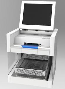 Offline-Dickenmessgerät für Kunststoff-Folien (Bildquelle: HCH.Kündig)