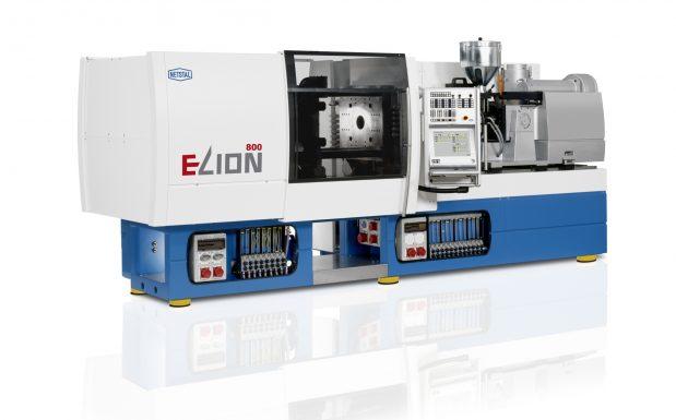 Platz 7: Die vollelektrische Spritzgießmaschine Elion von Netstal, Näfels, Schweiz, ist mit Schließkräften zwischen 800 und 4.200 kN erhältlich und eignet sich unter anderem für die Medizintechnik. (Bildquelle: Netstal)