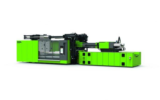Platz 1: Engel Austria, Schwertberg, Österreich, bietet mit der Duo eine Zweiplatten-Spritzgießmaschine für große Teile an. Sie ist verfügbar im Schließkraftbereich zwischen 350 und 5.500 t. (Bildquelle: Engel)