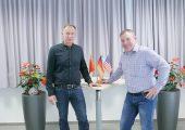 Die neue Spitze im Werkzeugbau bei BBG: Der Fertigungsleiter Michael Späth (l.) und Heiko Kasper, Leiter Werkzeugbau. (Bildquelle: BBG)