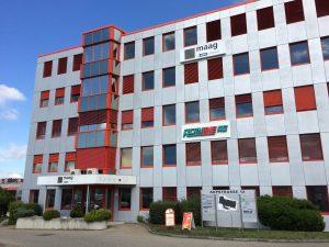 Der Hauptsitz von Maag in Oberglatt, Schweiz. (Bildquelle: Maag)
