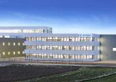 In der Europazentrale von Yaskawa in Allershausen befinden sich neben Büroräumen ein Lager sowie Produktionshallen, in denen für europäische Kunden Roboter kommissioniert sowie Roboter-Schweißanlagen gebaut werden. (Bildquelle: Yaskawa)