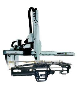 Anwendungsspezifisches End-of-Arm-Tool für Spritzgusssteile (Bildquelle: Piab)