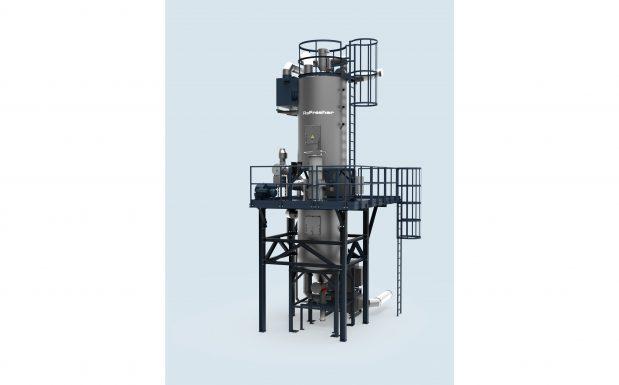Platz 10: Erema, Ansfelden, Österreich, hat eine technische Lösung gegen den Geruch von Post-Consumer-Abfällen entwickelt: den Refresher. Dieser eliminiert Gerüche, die durch migrierte Substanzen entstehen, also von Rückständen auf den Materialien. (Bildquelle: Erema)
