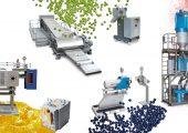 Granuliersysteme, Filtrationssysteme, Pulvermühlen: umfangreiches Produktportfolio auf dem Messestand (Bildquelle: Maag)