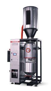 Die Steuerung des Vakuumtrocknermodells verfügt über eine Energieverbrauchsanzeige und die Möglichkeit, den Energieverbrauch zu protokollieren. (Bildquelle: Maguire)