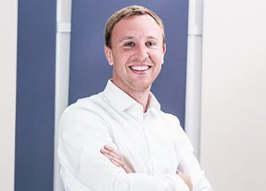 Dominic Mühleiß ist Geschäftsführer IE Plast Deutschland.