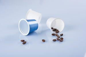In Wasserseparationssystemen recyclebare Kaffeekapseln (Bildquelle: Kiefel/Bosch-Sprang)