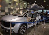 """Trends zum Anfassen im Automobilsalon – hier das Concept-Car """"Future Interior Concept"""" von VW. (Bildquelle: Redaktion Plastverarbeiter/Dr. Etwina Gandert)"""