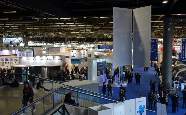 Eindrücke von der JEC 2018 in Paris. (Bildquelle: Dr. Etwina Gandert/Redaktion Plastverarbeiter)