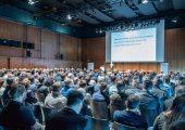 Zum zweiten Mal fanden Ende März 2018 in Bregenz die Meusburger Werkzeug- und Formenbautage statt. Rund 340 Besucher lauschten den Vorträgen und tauschten sich in den Pausen über aktuelle Branchenthemen aus. (Bildquelle: Meusburger)