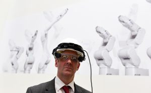 Augmented- und Virtualy Reality gehören im Jahr 2018 zum Erscheinungsbild der Hannover Messe (Bildquelle: Deutsche Messe)