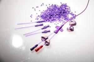 Am neuen Produktionsstandort werden unter anderem Schläuche für Katheter-Produkte hergestellt. (Bildquelle: Flexan)
