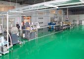 64 Stränge hat die Pultrusionsanlage bei HCJH (Bildquelle: Suzhou Hechang Polymeric Materials).