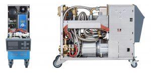 Bei der Auswahl der passenden Pumpendrehzahl sorgen die Temperiergeräte für effektive Unterstützung. (Bildquelle: HB-Therm)