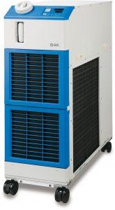 Die neuen Kühl- und Temperiergeräte verfügen über eine Kühlleistung von 9 kW. (Bildquelle: SMC)