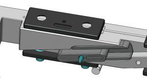 Die gleitenden Bauteile mit Spezialbeschichtung sorgen für einen optimierten Verschleißschutz und sind auch vom Anwender wechselbar. (Bildquelle: Günther)