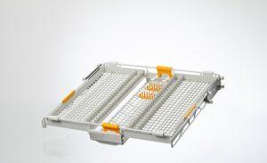 Bestecksublade mit drei verschiebbaren beziehungsweise versenkbaren Segmenten (Bildquelle: EKT)