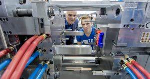 Digitalisierung, additive Fertigung sowie ein flexibles Agieren in der Coronakrise sind aktuelle Trends im Werkzeug- und Formenbau. (Bildquelle: Messe Stuttgart)