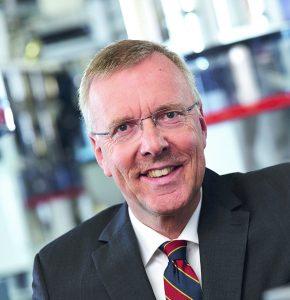 """""""Mit dem Gemeinschaftsunternehmen sichern wir unsere führende Position im internationalen Markt"""", sagte Dr. Jürgen Vutz, Gesellschafter und Vorstandsvorsitzender von Windmöller & Hölscher. (Bildquelle: VDMA)"""
