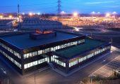 Der Firmensitz von Gimatic in Roncadelle, Italien. Der Hersteller von EOAT-Lösungen (End of Arm Tooling) und mechatronischen Komponenten für Roboter-Greifer beschäftigt derzeit 250 Mitarbeiter und will in diesem Jahr noch 25 weitere Mitarbeiter einstellen. (Bildquelle: Gimatic)
