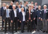 """Die Referenten der 20. Fachtagung """"Fortschritte in der Kunststofftechnik"""" Ende Juni in der Hochschule Osnabrück. Insgesamt wurden elf Vorträge von Referenten aus Industrie und Wissenschaft gehalten."""