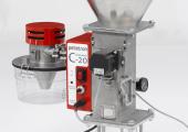 Der Granulat-Entstauber C-20 Deduster verfügt jetzt über eine deutlich höhere Reinigungsleistung und ist auch bei höheren Temperaturen einsetzbar, bis 120 °C. (Bildquelle: Pelletron)