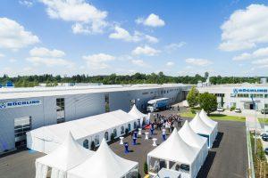 Röchling Maywo hat in Bad Grönenbach eine neue, 5.000 Quadratmeter große Lager- und Produktionshalle feierlich in Betrieb genommen. (Bildquelle: Röchling)